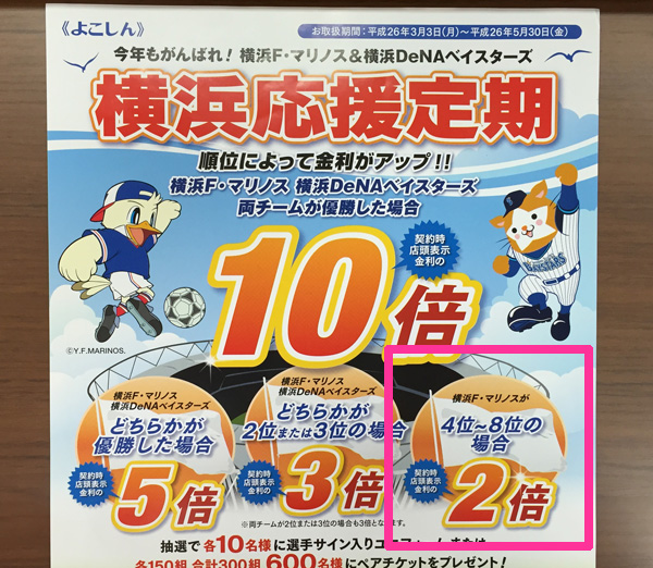 横浜F・マリノスが賞金がもらえる順位(7位以上)に入ってもらいたいもう1つの理由
