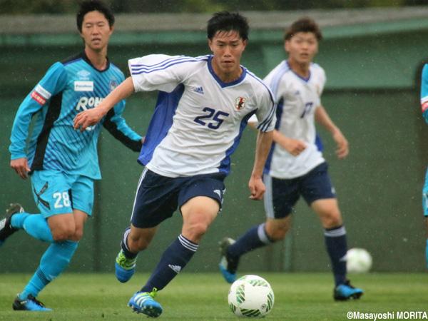 遠藤渓太:2016/4/11~13 U-19日本代表トレーニングキャンプ