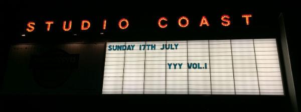 YYY(ワイワイワイ)vol.1に行ってきた。