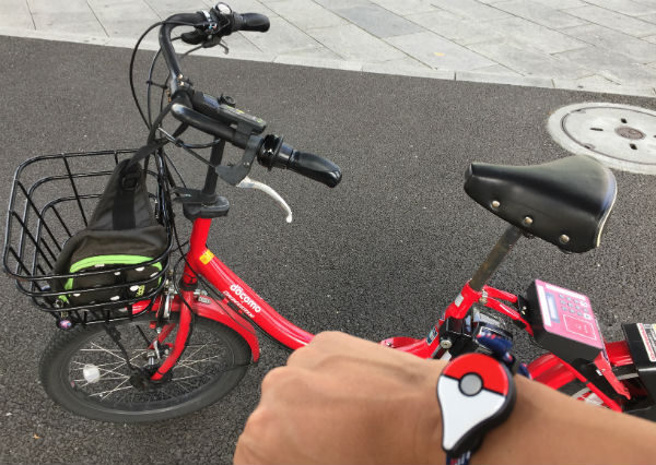 みなとみらい / 関内でポケモンGOをやるなら、baybike(ベイバイク)がはかどる。
