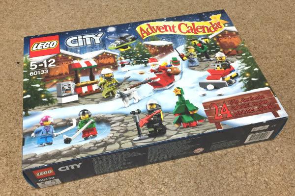 「レゴ・アドベントカレンダー2016(シティ)」が届きましたー。