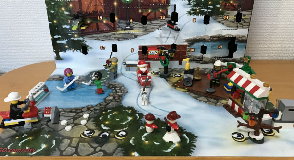 今週(2016/12/19〜12/24)のレゴ・アドベントカレンダー(City)まとめ #lego #legoadventcalendar