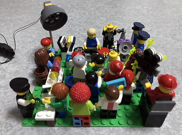 「横浜F・マリノスナイト vol.3」直前、レゴで「クラブ」を作ってみた