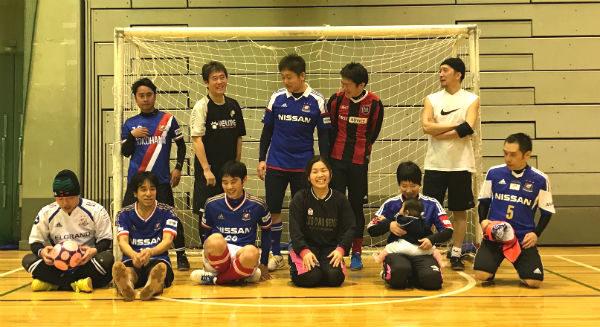 馴合いフットサルvol.94レポート   横浜F・マリノスの練習試合とダブルブッキングも新横浜で開催。