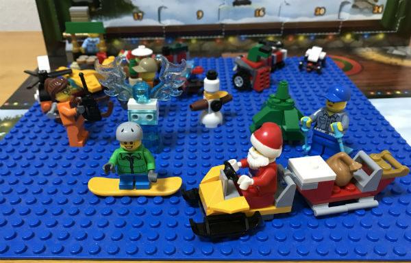 今週(2017/12/17〜12/24)のレゴ・アドベントカレンダー(City)まとめ #lego #legoadventcalendar