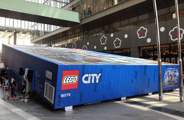 「超巨大 入れるレゴシティ」@二子玉川ライズに行ってきた。