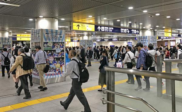 今週の「横浜駅みなみ西口」のプロモーションポスターまとめ(第16節 松本山雅FC戦)