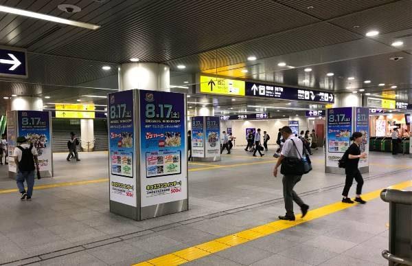 今週の「横浜駅みなみ西口」のプロモーションポスターまとめ(第23節 セレッソ大阪戦)