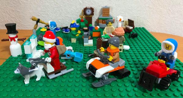 2019年のレゴ・アドベントカレンダー(City)まとめ(2019/12/17〜12/24) #lego #legoadventcalendar
