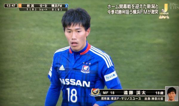 【J1 100games】勝利へ踏み出した1歩は100歩(試合)目に。おめでとう渓太、目の前の壁を破り続けろ! #遠藤渓太 #ケイタイケ